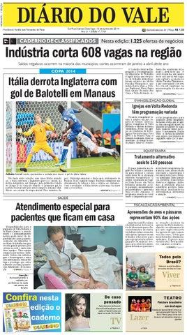 7335 diario domingo 15 06 2014 by Diário do Vale - issuu 41933ae38f9