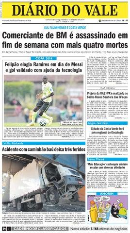 cf484cfbd31 7336 diario do vale segunda feira 16 06 2014 by Diário do Vale - issuu