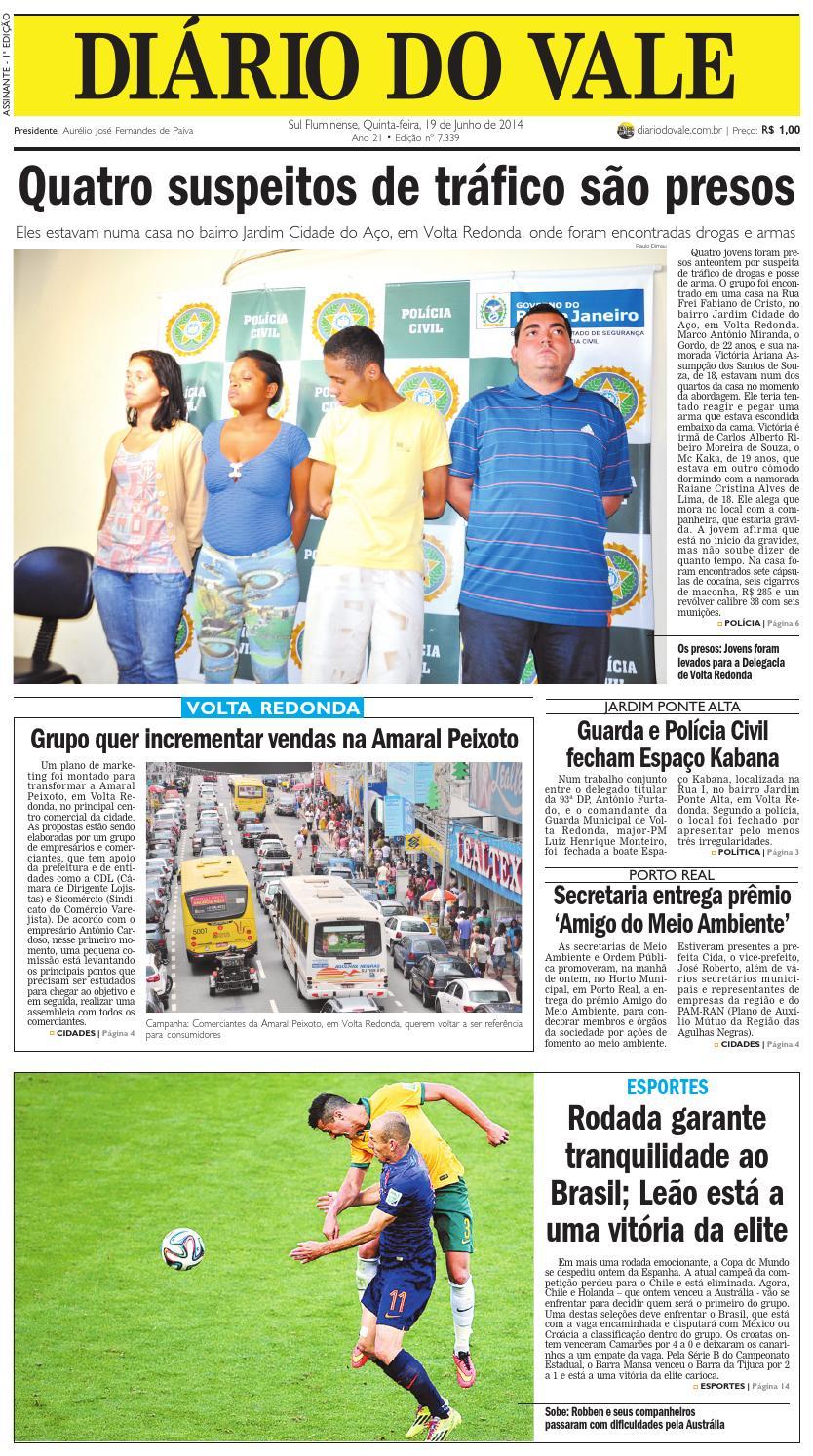 f722aff1de 7339 diario quinta feira 19 06 2014 by Diário do Vale - issuu
