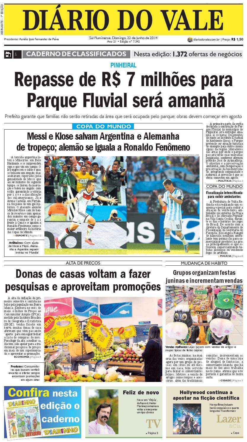 9a81e740f906e Completo 7342 diario domingo 22 06 20142 by Diário do Vale - issuu