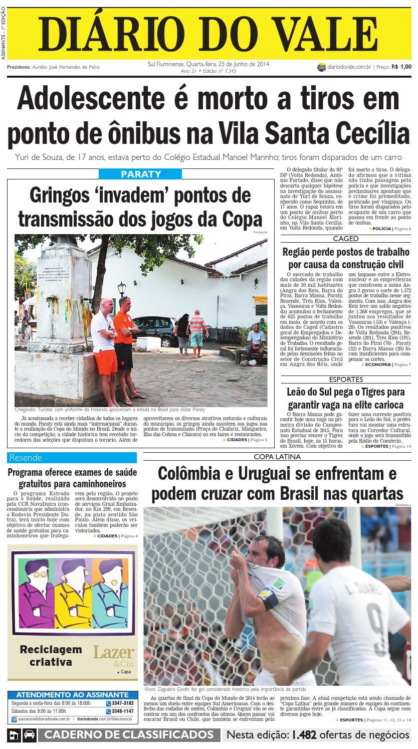 607a91327fbc5 7345 diario quarta feira 25 06 2014 by Diário do Vale - issuu
