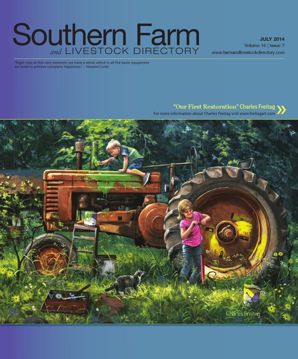 Southern Farm And Livestock Directory | July 2014 by Five