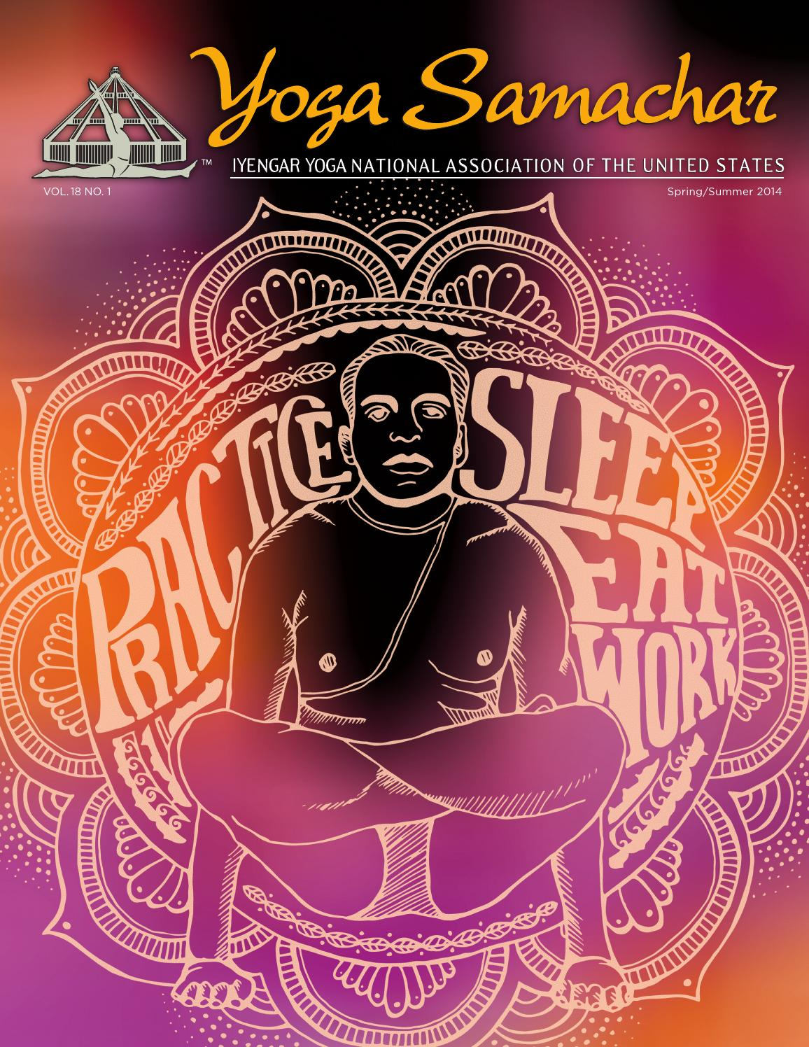 Yoga Samachar Spring Summer2014 By Don Gura Graphic Design Inc Issuu