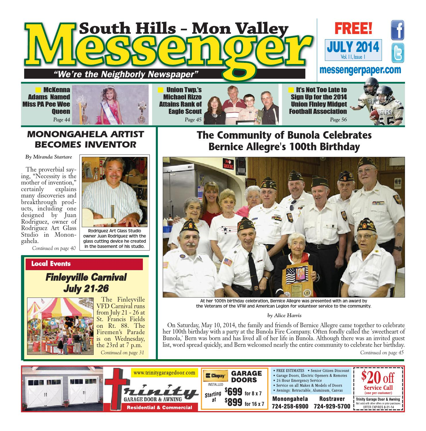 South hills mon valley messenger january 2015 by south hills mon south hills mon valley messenger july 2014 fandeluxe Choice Image
