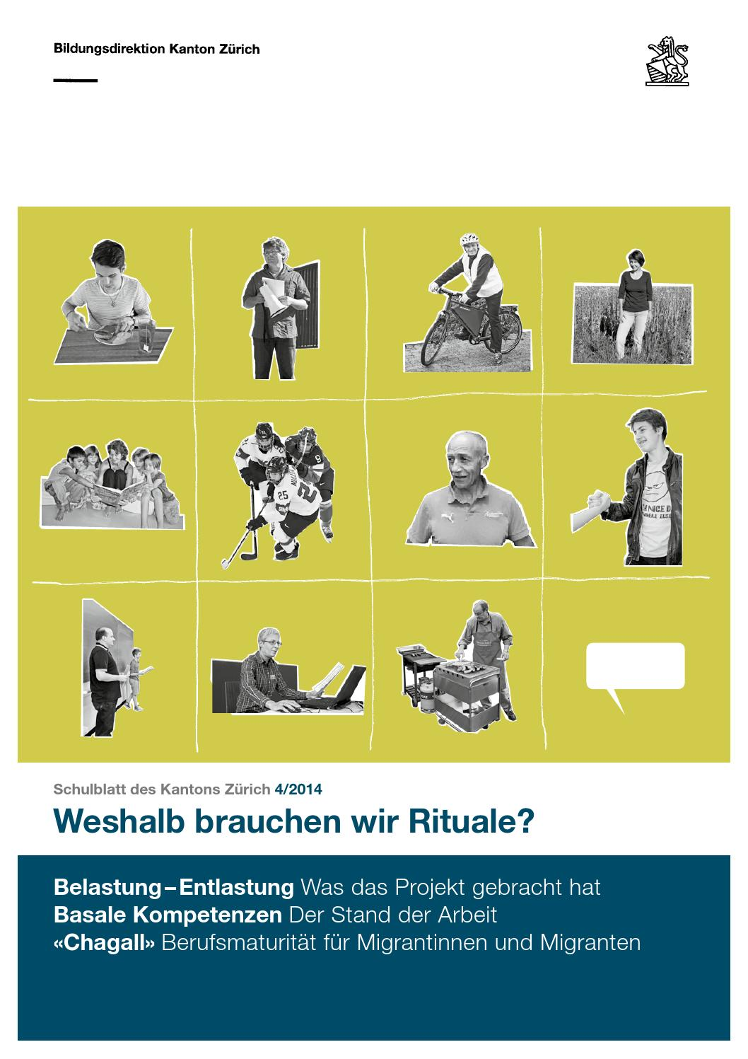 Schulblatt 4 2014 by Schulblatt Kanton Zürich - issuu