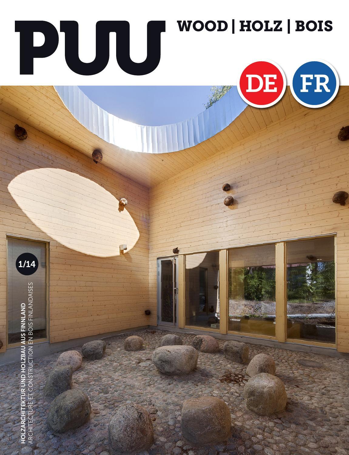 HolzBois-magazine 1/2014 by Puu-lehti / Wood Magazine / Holz Magazin ...