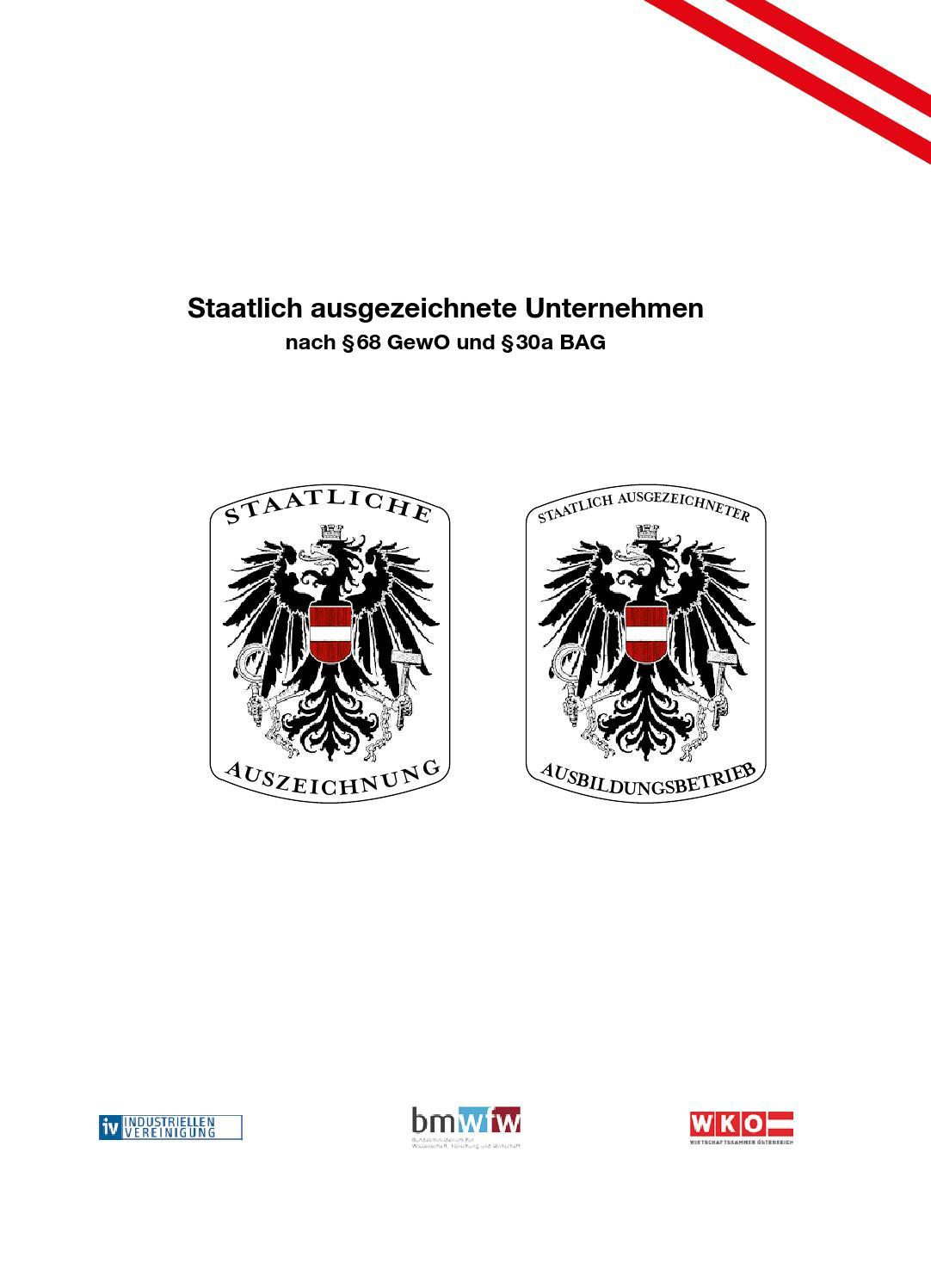 Staatlich ausgezeichnete Unternehmen - Edition 2014 by Staatswappen ...