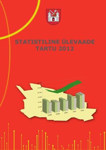 2b730638db5 Statistiline ülevaade Tartu 2012 by Tartu Linnavalitsus - issuu
