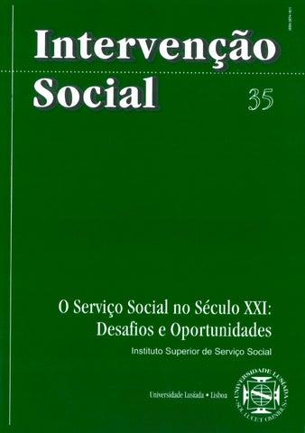 026f48b005 Intervenção Social - 35 by Mediateca ULL - issuu