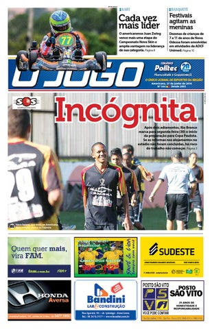54a661571 Jornal O JOGO by Zaramelo Jr - issuu