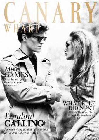 b7f4f3462ed5 Canary Wharf Magazine September 2014 by Runwild Media Group - issuu