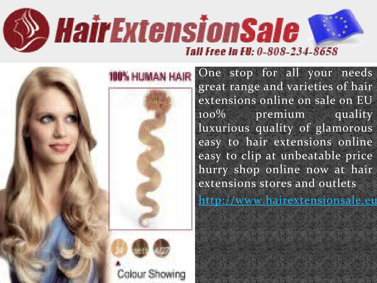 Human Hair Extensions By Hairextensions Issuu