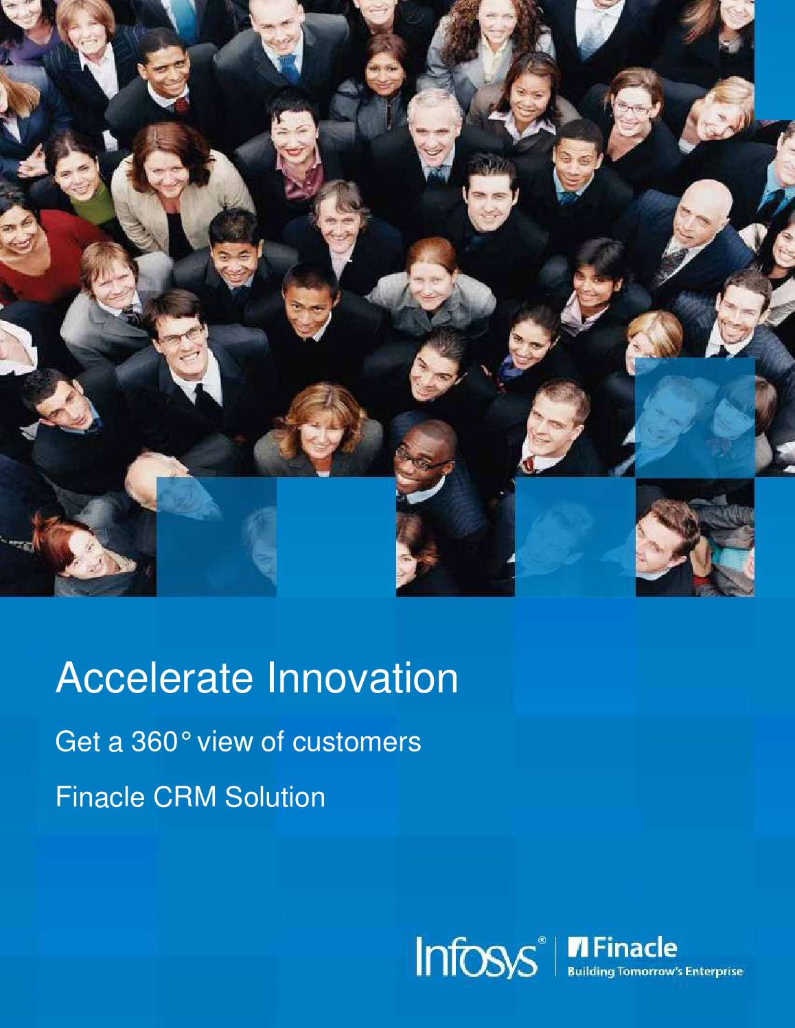 Finacle CRM - Everything a Financial Institution Needs by