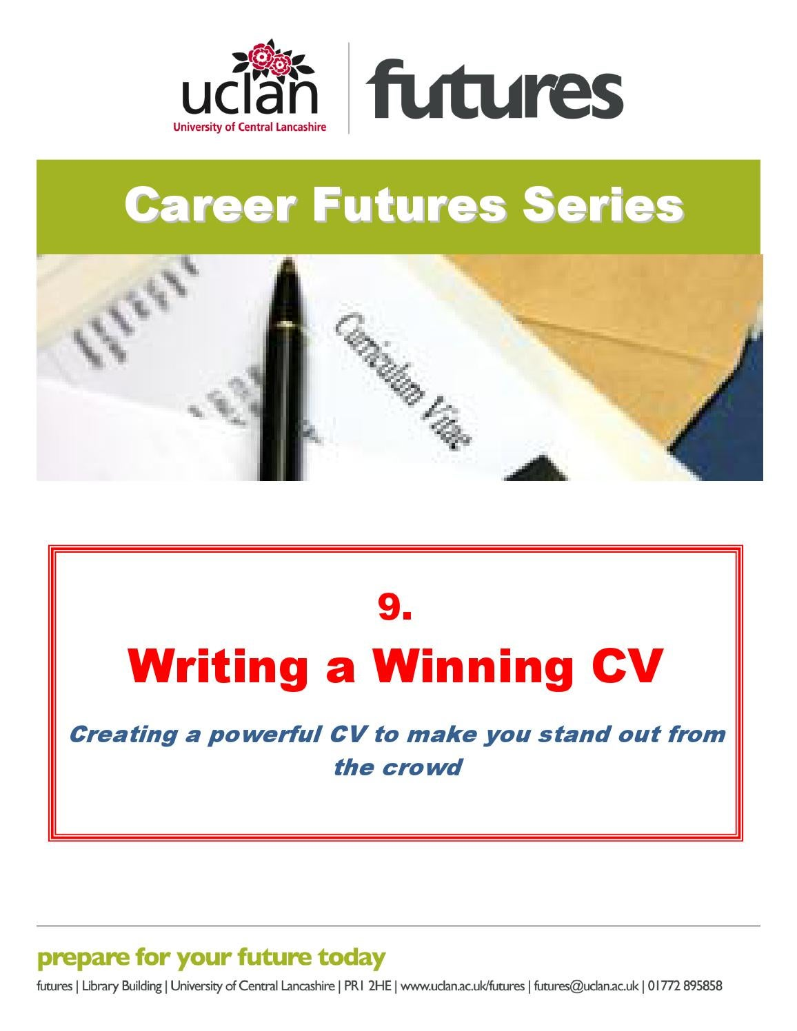 writing a winning cv by phillip brown issuu