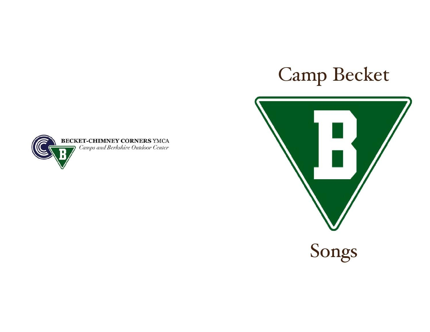 Camp becket song book by Monk - issuu