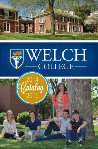 2014 15 welch college academic catalog by welch college issuu page 1 fandeluxe Images