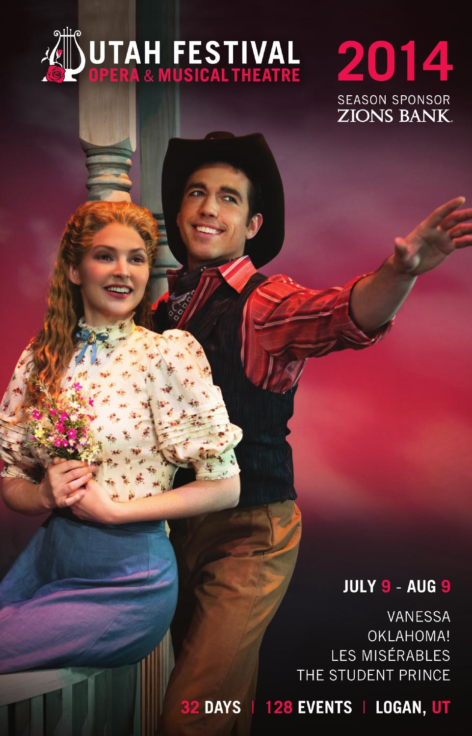 Utah Festival Opera 2014 by Mills Publishing Inc  - issuu
