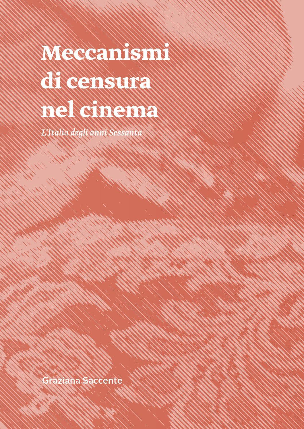 Meccanismi di censura nel cinema. L'Italia degli anni