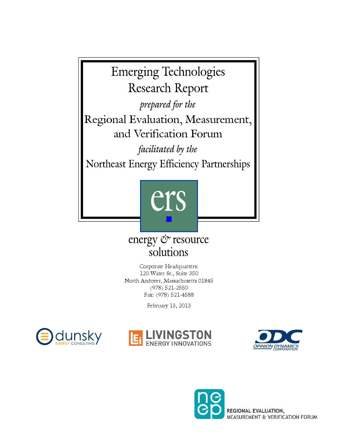 Emerging Technologies Research Report By Neep Energy Issuu Suddenlink Wiring Diagram