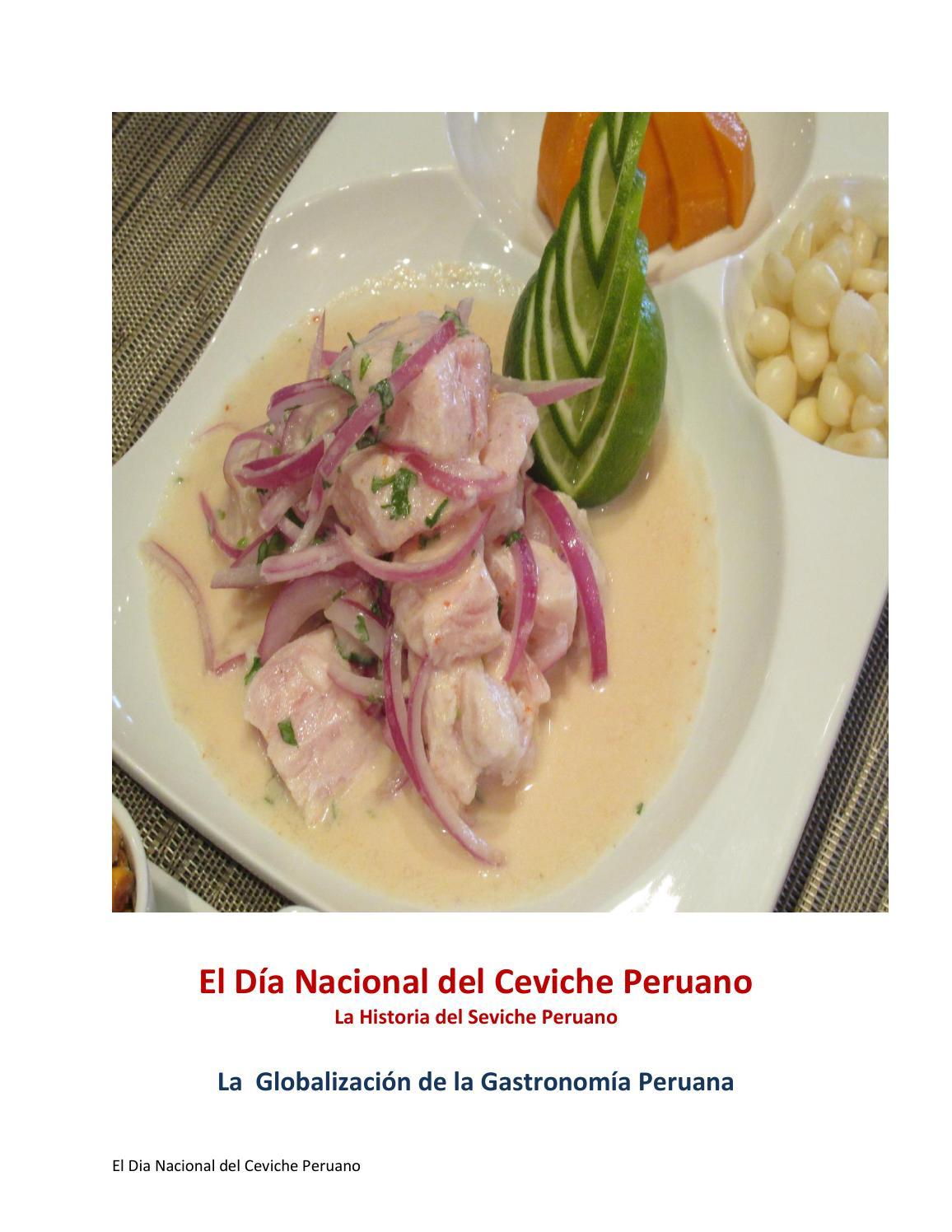La Historia Del Ceviche Peruano By La Diaspora Peruana Issuu