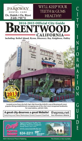 75609138995 Brentwood Official City Guide and Business Directory 2012-2013 by Brentwood  Press   Publishing - issuu