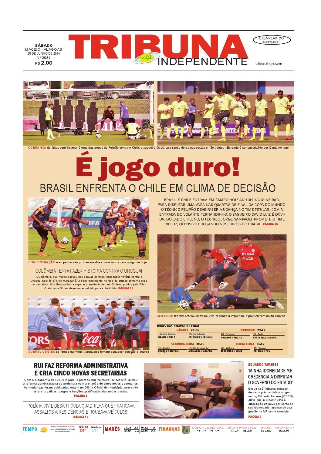 11790490277a9 Edição número 2081 - 28 de junho de 2014 by Tribuna Hoje - issuu