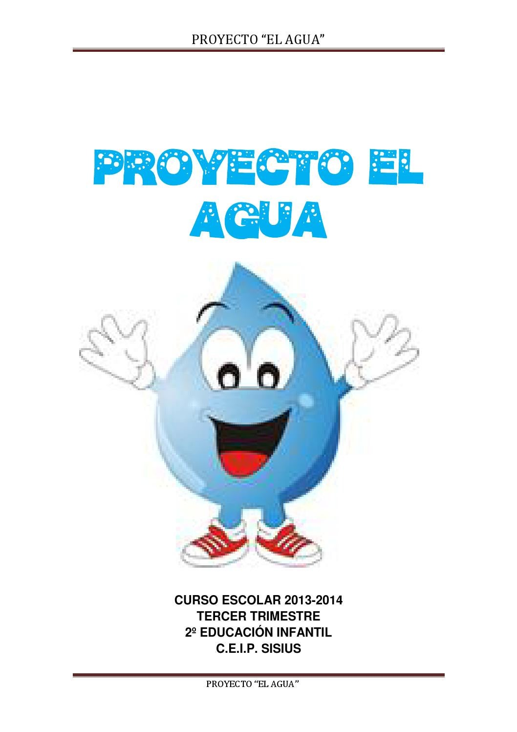 Proyecto El Agua By Begoña Azcon Saiz Issuu