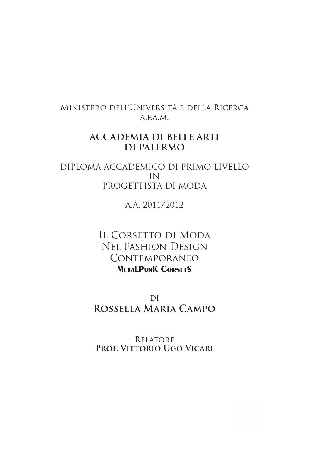 Tesi by Rossella Campo - issuu 0101d29ca94