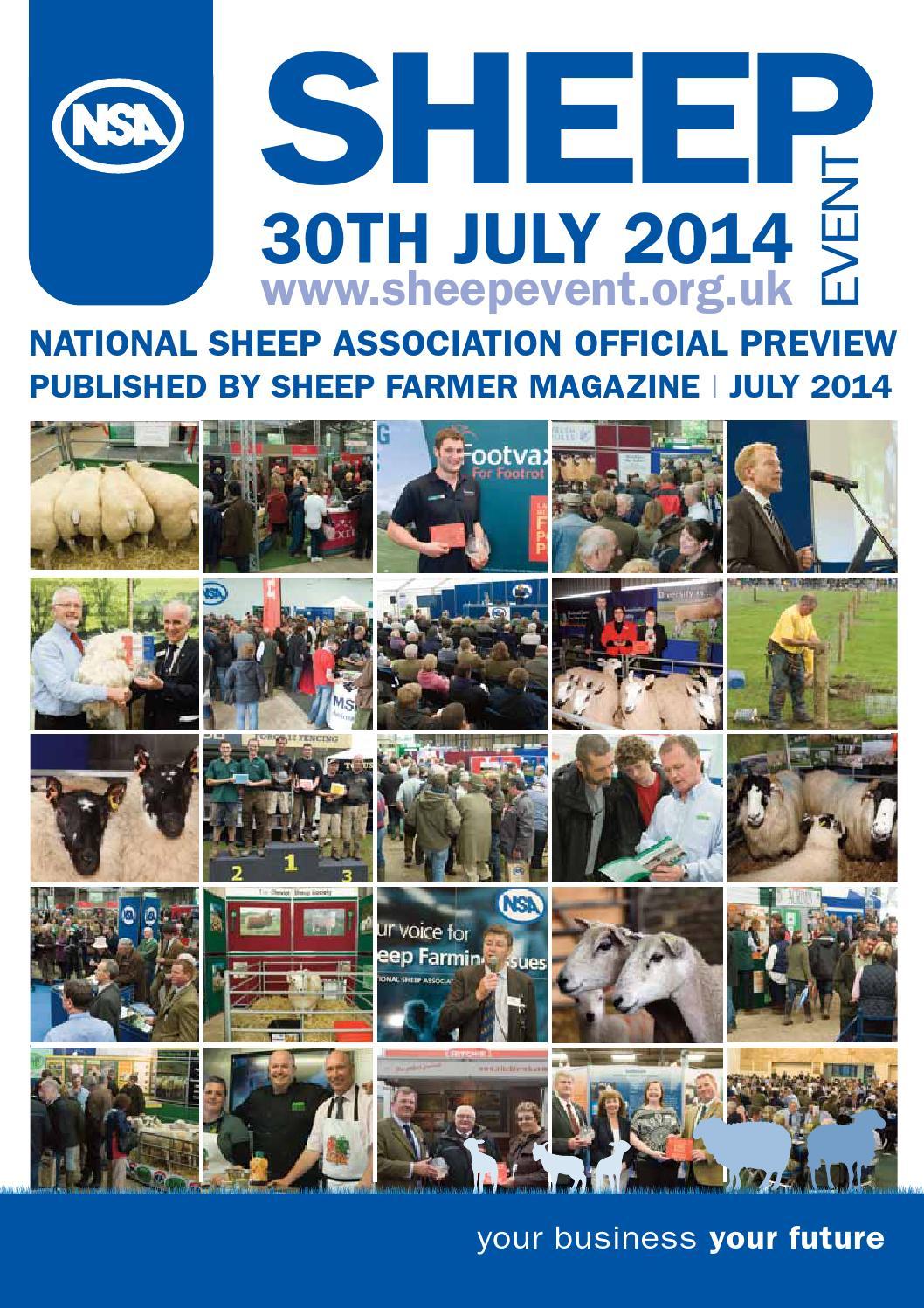 Sheep farmer july august 2014 by Joanne Briggs - issuu