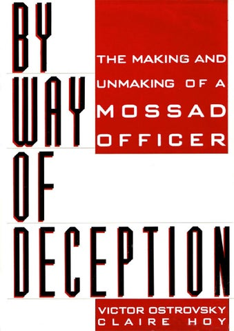 By Way Of Deception Victor Ostrovsky By Kruntil Issuu