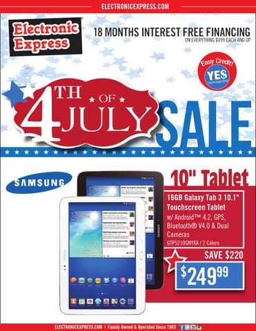 Electronic Express Weekly Circular week of June 29, 2014 by