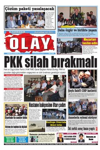 30 06 2014 Gazete Sayfalari By Diyarbakir Olaygazetesi Issuu