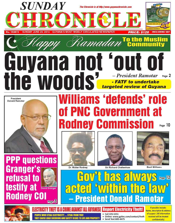 Guyana chronicle 06 29...