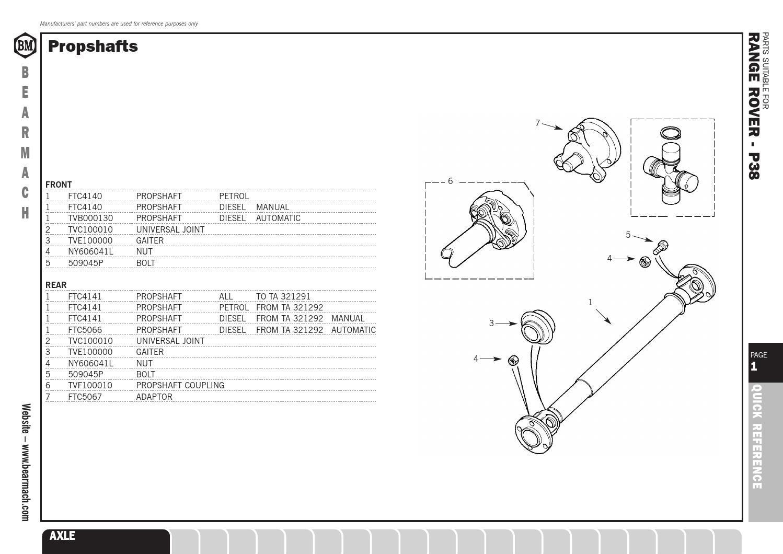 Range Rover P38 Parts Catalogue By Pedro Santos Issuu Diagram Fuse Box 1997