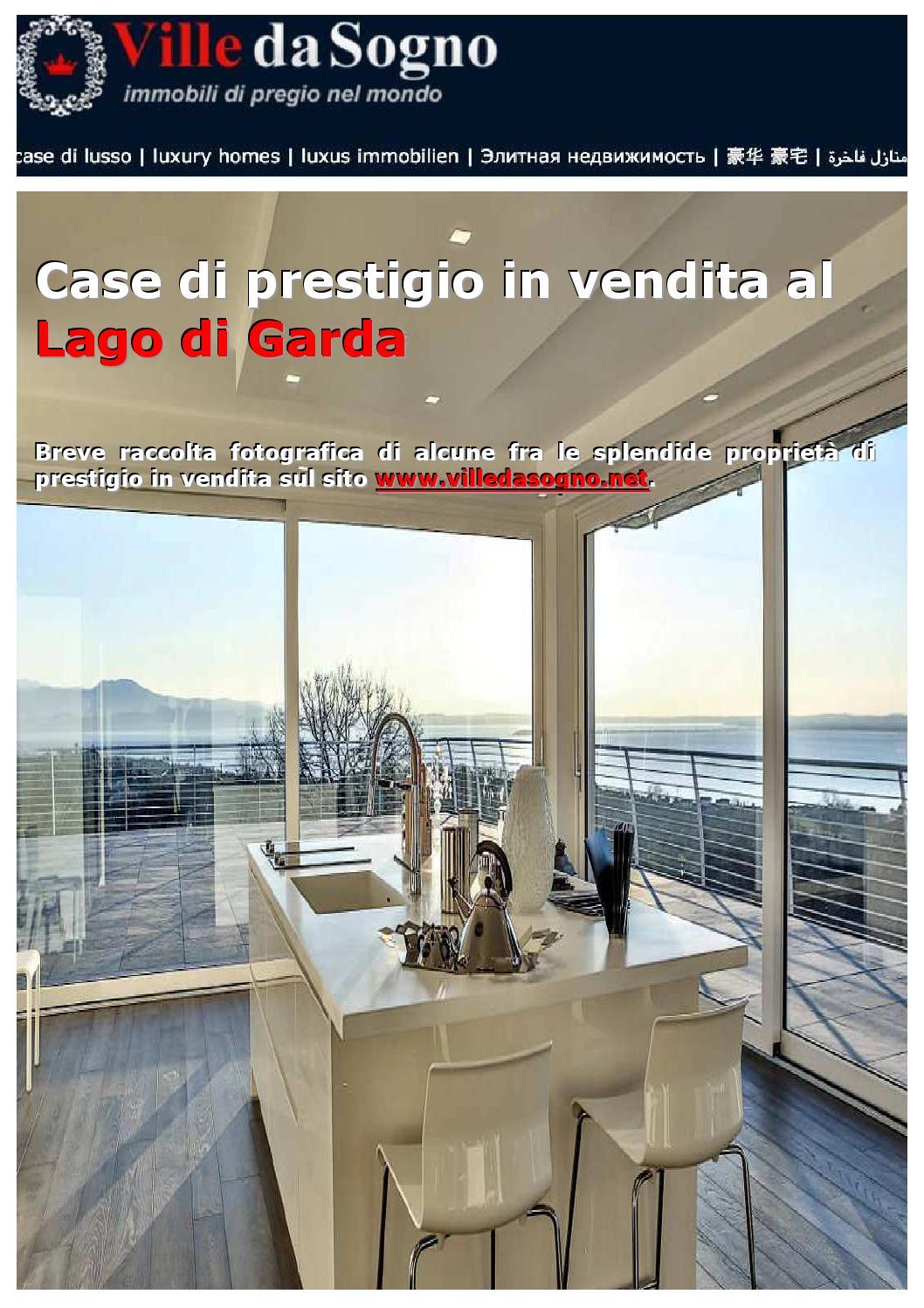 Case di prestigio in vendita al lago di garda by ville da for Case in vendita
