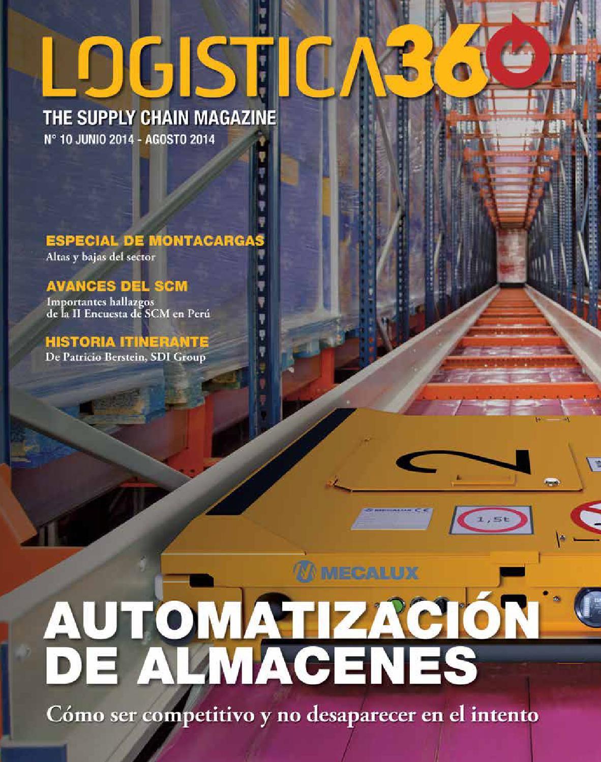 Revista Logistica360 The Supply Chain Magazine Revista Lider Del Sector Logistico Peruano By Gestion Logistica Issuu