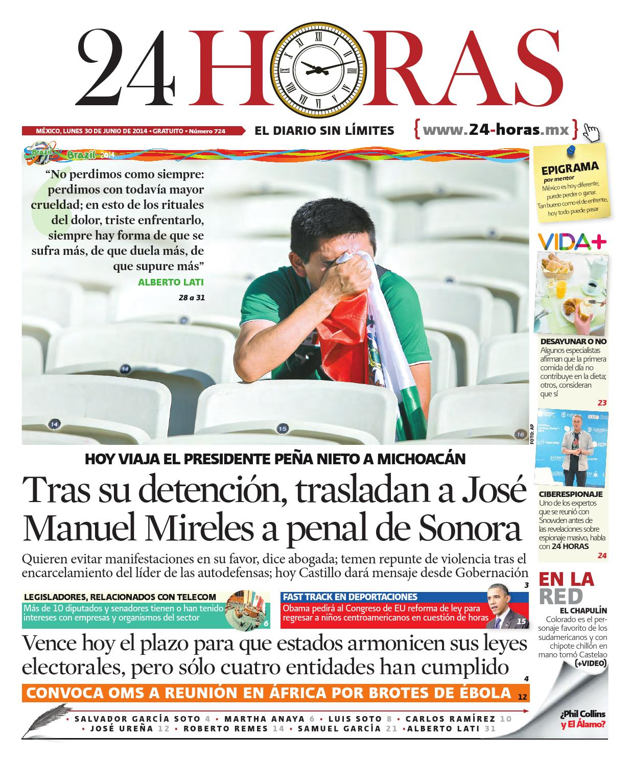 Junio | 30 | 2014 by Información Integral 24/7 SAPI de C.V. - issuu