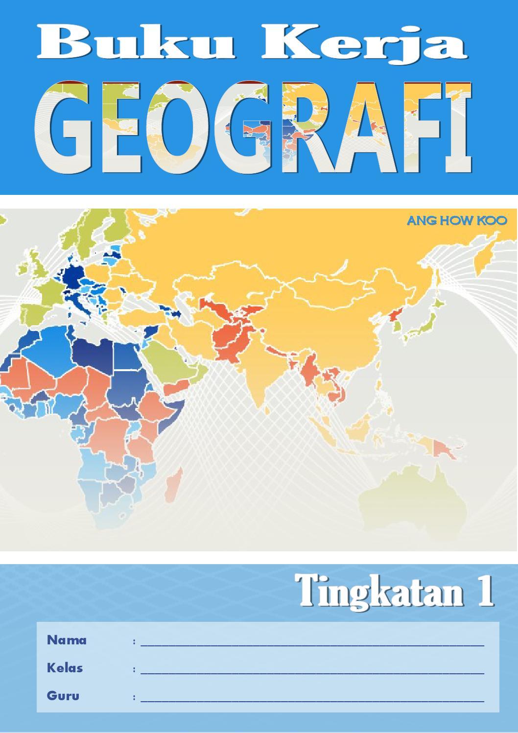 Sample Buku Kerja Geo Tingkatan 1 by Buku Geografi - Issuu