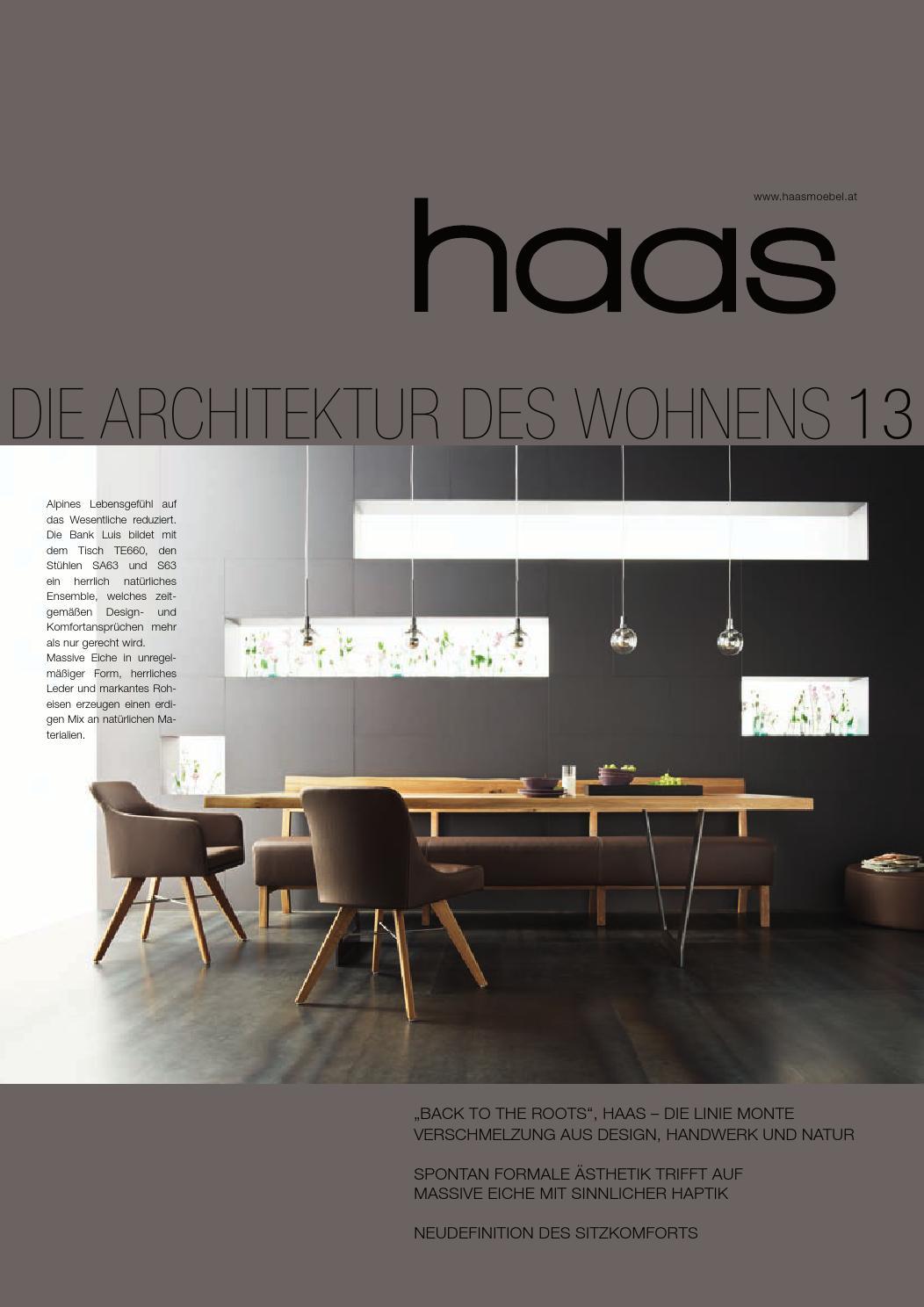 Haas Möbel - Die Architektur des Wohnens by Roman Gangl Möbelhandel ...