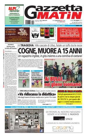 Gazzetta Matin 30 giugno 2014 by Luca Mercanti - issuu 05d59c2bd5c
