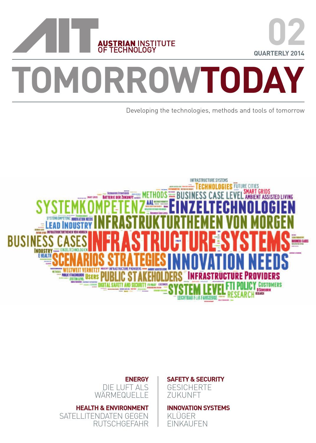 Tomorrowtoday 02 14 by AIT Austrian Institute of Technology GmbH - issuu