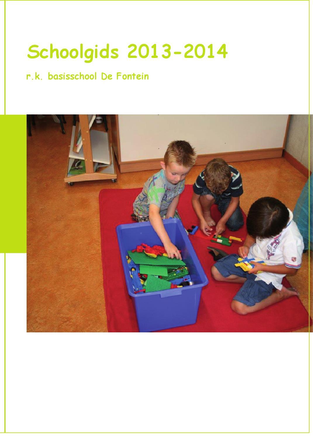 Basisschool De Fontein Den Helder.2013 09 04 Schoolgids Rk Basisschool De Fontein 2013 2014 By