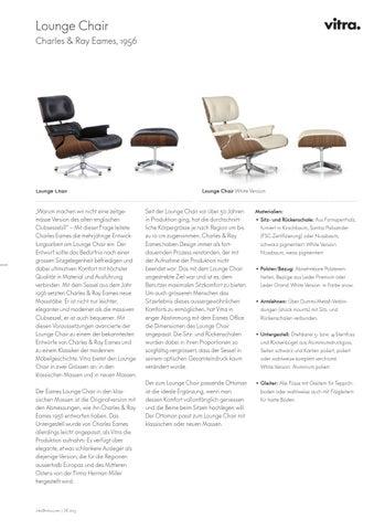 V. Lounge Chair Charles U0026 Ray Eames ...