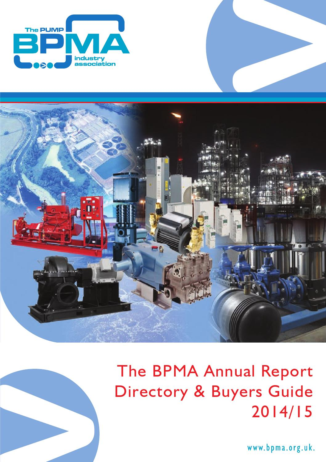 Bpma Annual Report Directory Buyers Guide 201415 By