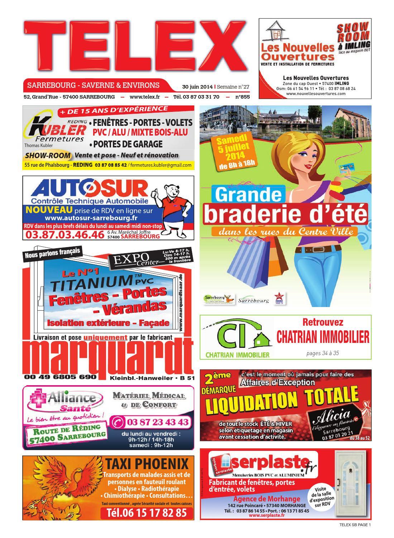 2714 sarrebourg by claude vervin issuu for Rdv en ligne garage