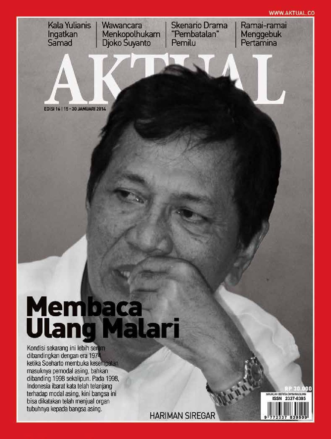 Aktual edisi 16 by widhi maulana - issuu