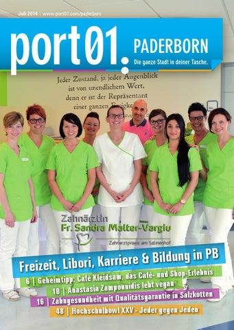 Zahnmedizinisches Zentrum Paderborn port01 stadtmagazin paderborn juli 2014 by port01 stadtmagazin