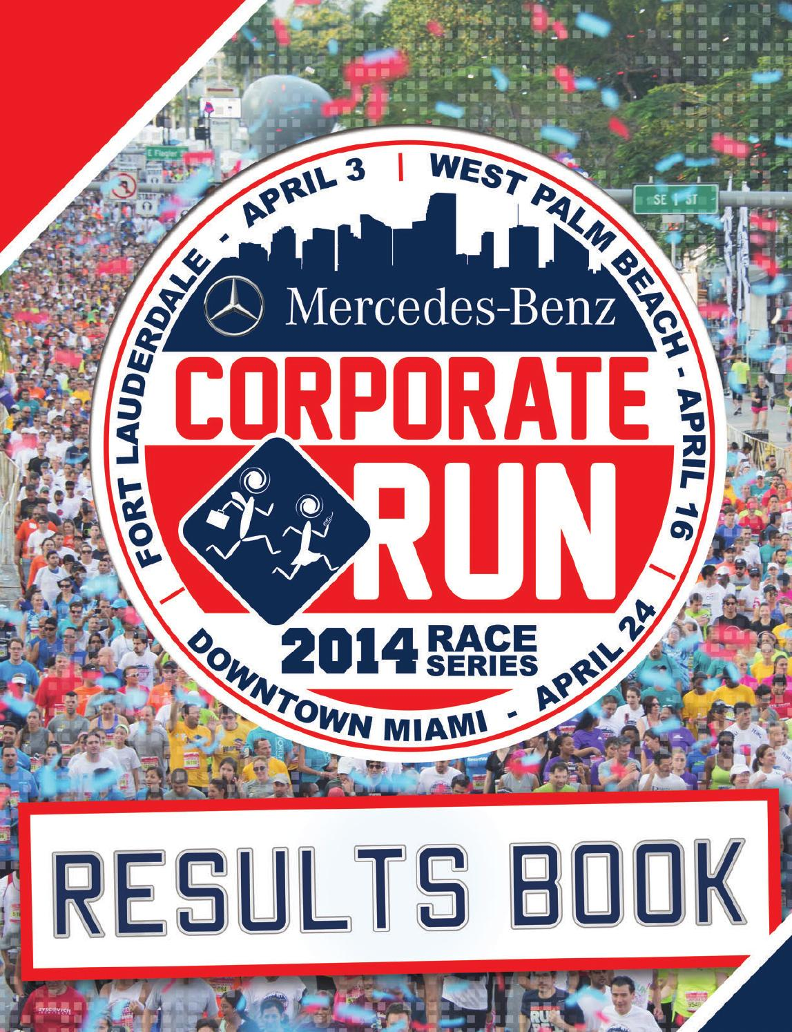 Mercedes Coconut Creek >> MBCR Results Book 2014 by TeamFootWorks - Issuu
