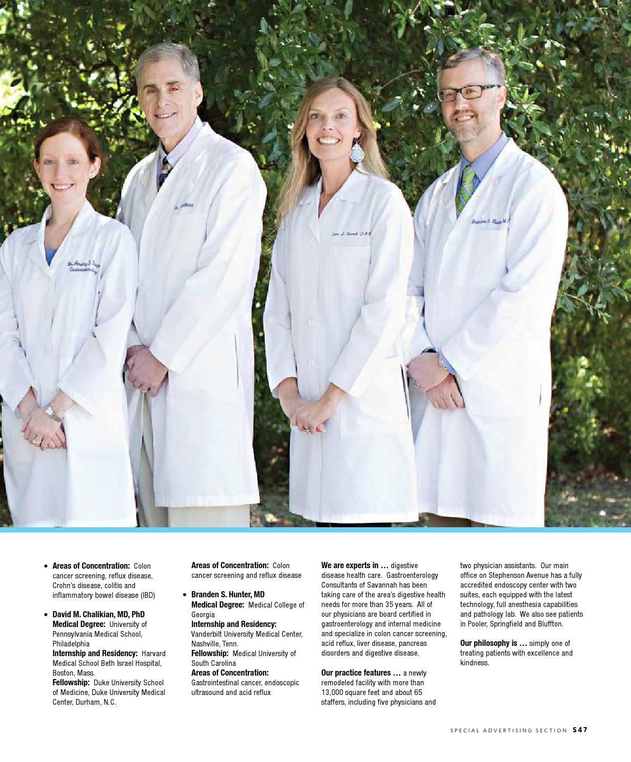 Savmag health 2014 by Savannah Magazine - issuu