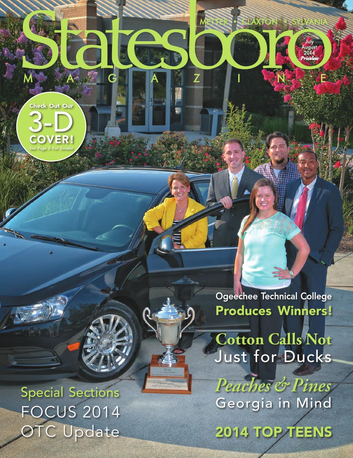 Statesboro Magazine July August 2014 By